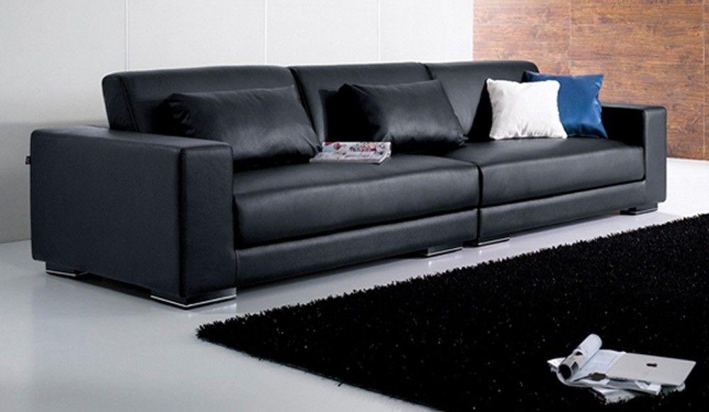 Image for Stunning 4 Seat Leather Sofa | Sofa Design Ideas ...