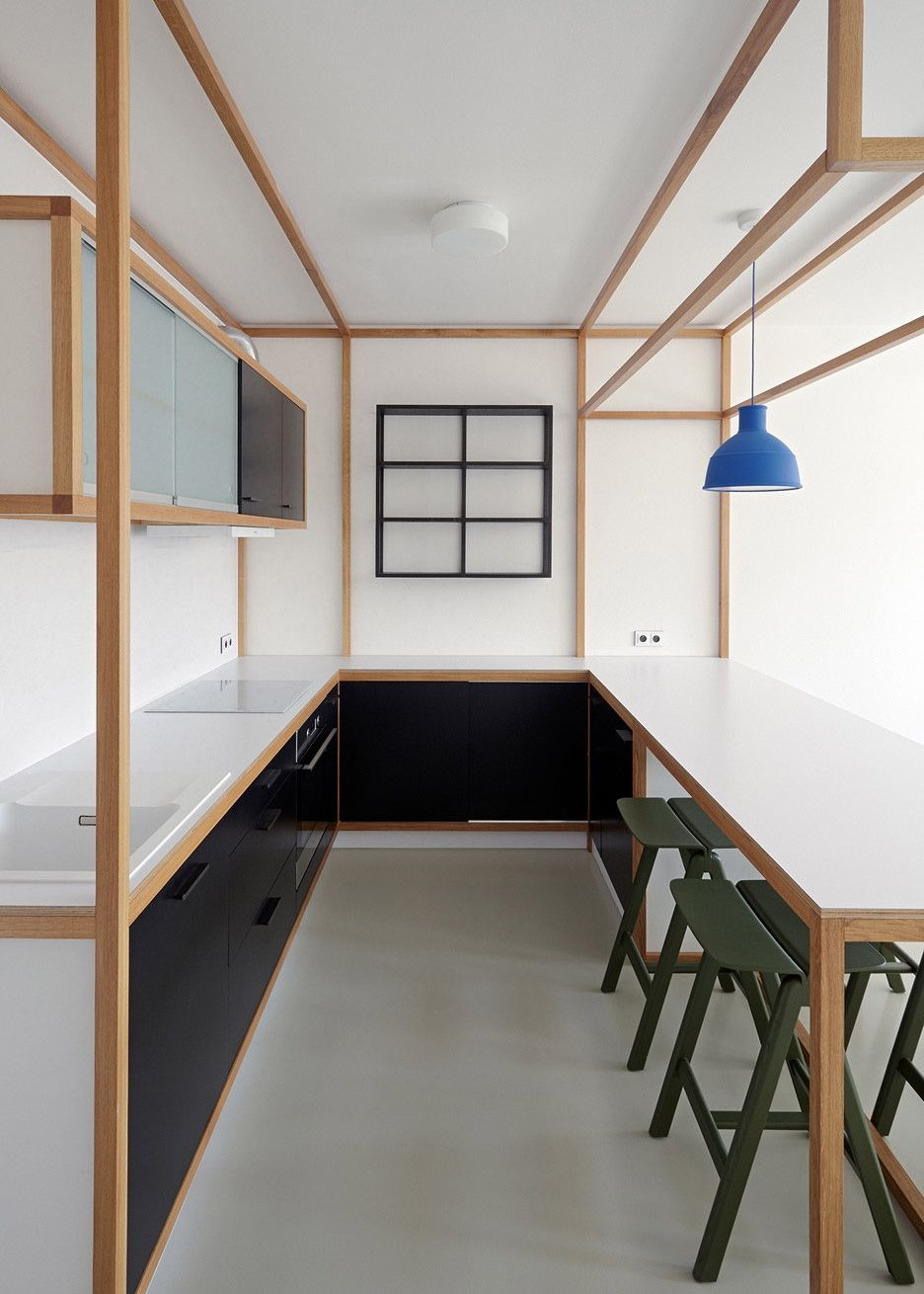 Guest Apartment Dddaann Mjolk Design Interior Prague | Yellowtrace