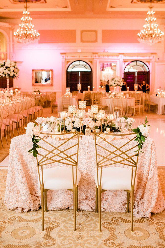 42 Glamorous Rose Gold Wedding Decor Ideas (With images ...