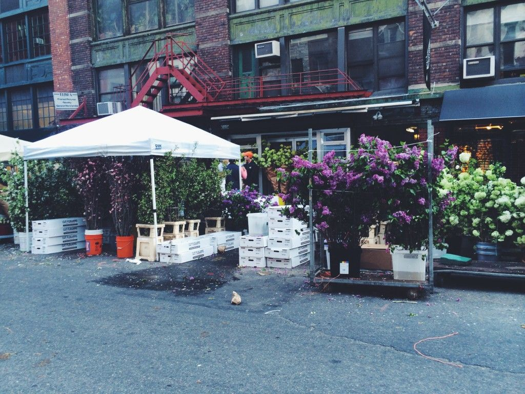 A Visit to Chelsea Flower Markets New York Chelsea