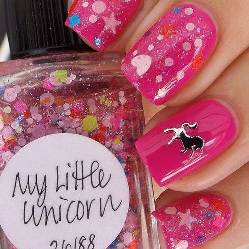 My Little Unicorn from @lovelynnderella used in this mani down by @hollyatthenailtales #moda, #fashion, #nails, #like, #uñas, #trend, #style, #nice, #chic, #girls, #nailart, #inspiration, #art, #pretty, #cute, uñas decoradas, estilos de uñas, uñas de gel, uñas postizas, #gelish, #barniz, esmalte para uñas, modelos de uñas, uñas decoradas, decoracion de uñas, uñas pintadas, barniz para uñas, manicure, #glitter, gel nails, fashion nails, beautiful nails, #stylish, nail styles
