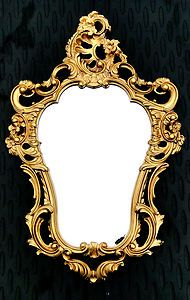 Wandspiegel Gold Spiegel 50X76 ANTIK BAROCK Wanddeko 118 2