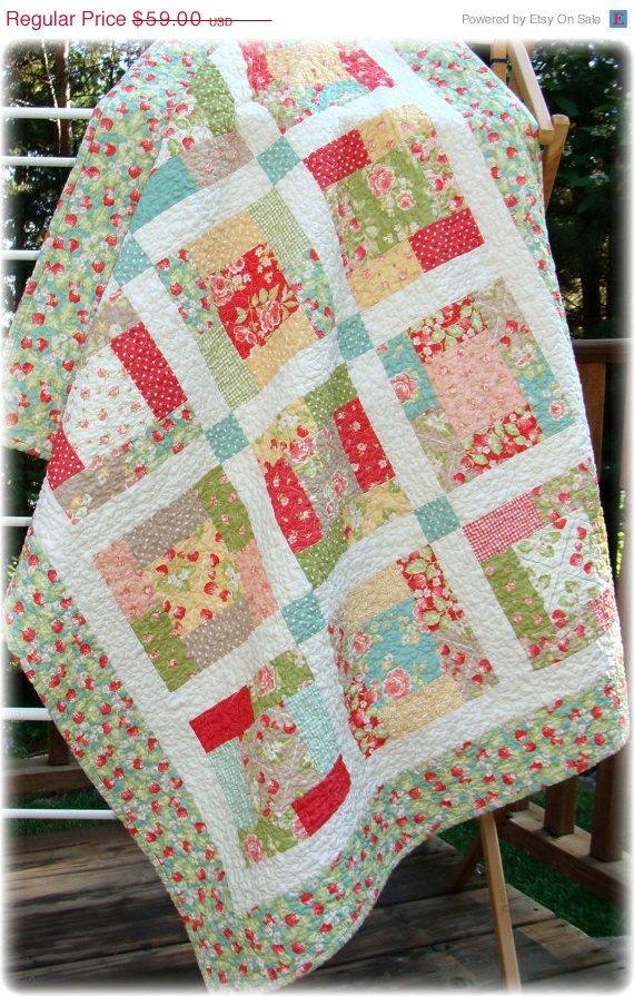 Moda Dogwood Trail by Sentimental Studios (Quilt Kid Toddler Quilt ... : dogwood quilt pattern - Adamdwight.com