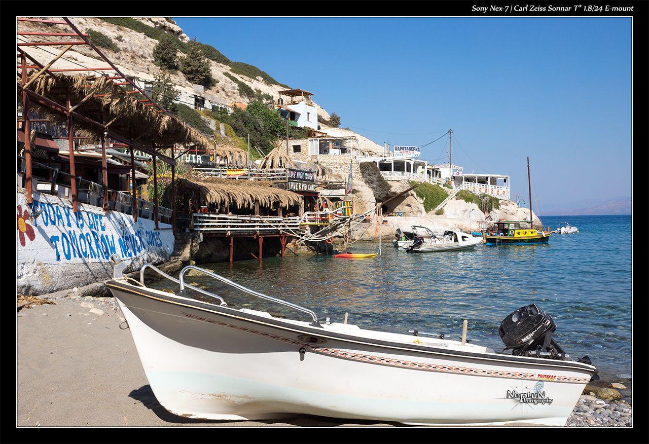 Village de Matala - Crète by NeptuN™ | neptun-photography.com