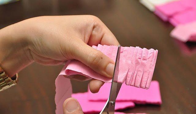 Como hacer cortinas con papel crepe babies - Como confeccionar cortinas ...