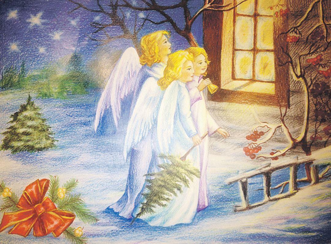 Для одноклассников, рождественское чудо картинки рисунки