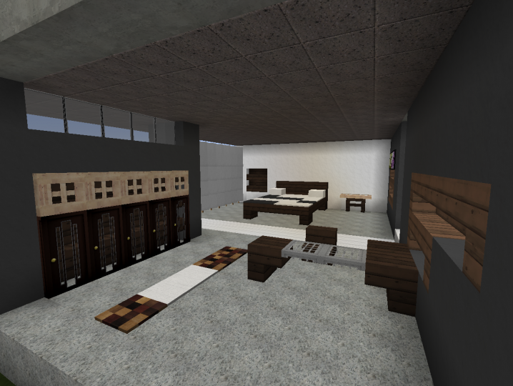 35++ Modern bedroom ideas for minecraft pe formasi cpns