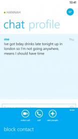 Skype WP8 6 Windows phone, Phone, App
