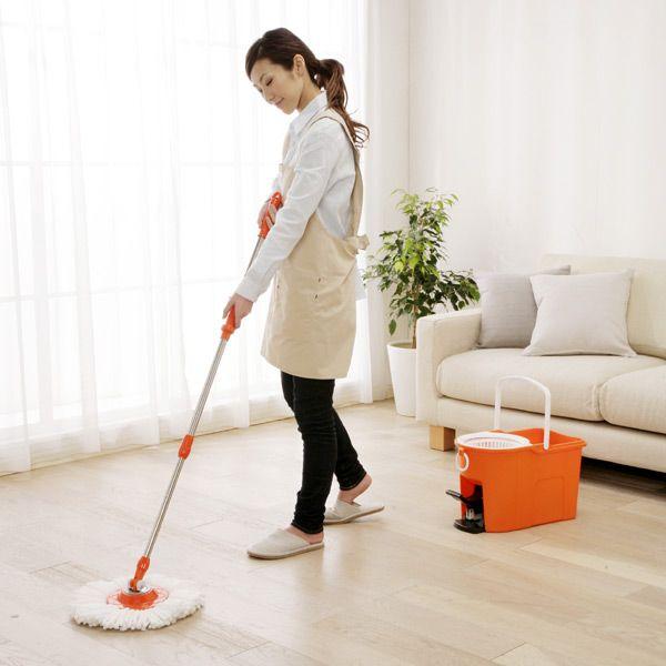 楽天市場 回転モップ 洗浄機能付き Kmo 490s 掃除 モップ 雑巾がけ 床 フローリング 拭き掃除 オレンジ がっちりマンデーで紹介されました Rcp 0530da Ki アイリスオーヤマ 業務用にも 1008sale Hl150515 楽フェス ポイント2倍 1 拭き掃除 床