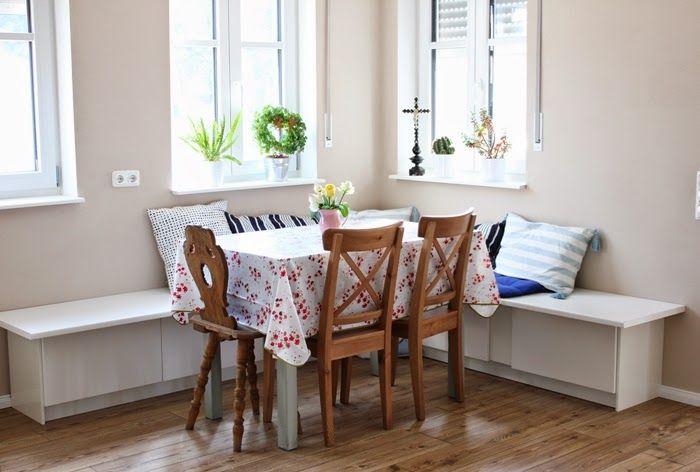 Wir bauen ein Haus Ikea Hack Tutorial - Essecke Ikea hack, Haus - eckbank küche ikea