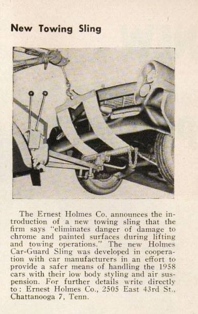 Combo sling, old ad | Tow truck, Vintage pickup trucks, Towing