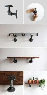 A Diy Industrial Shelving Unit For Anywhere In Your Home Perfect
