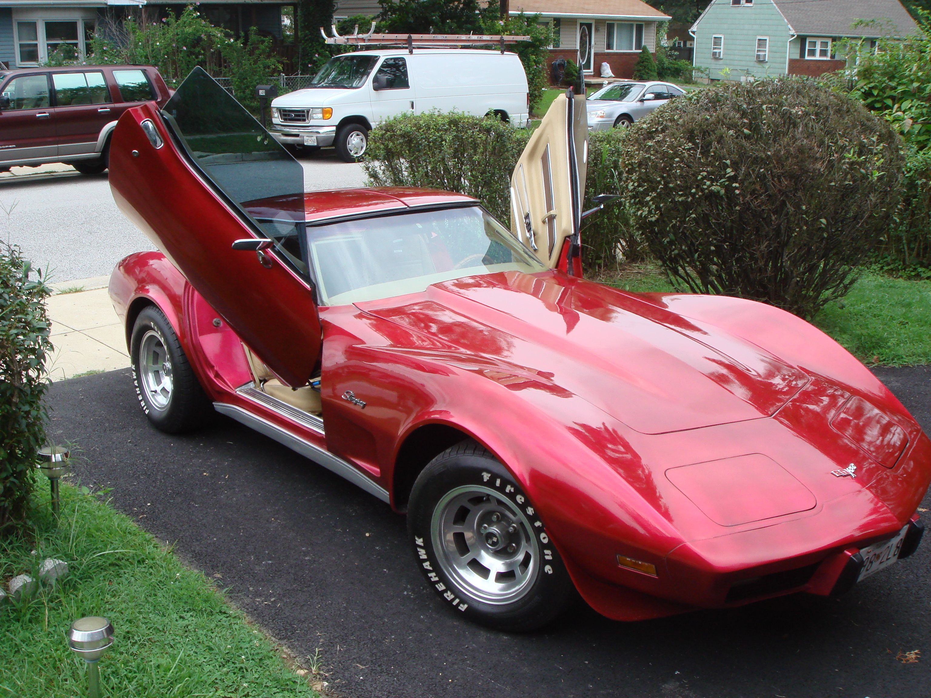 C3 Vertical Door Kit Vertical Doors Door Kits Little Red Corvette