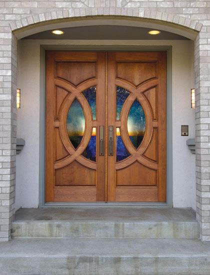 Residential Double Front Doors front entry doors | exterior doors | precision doors of south bend