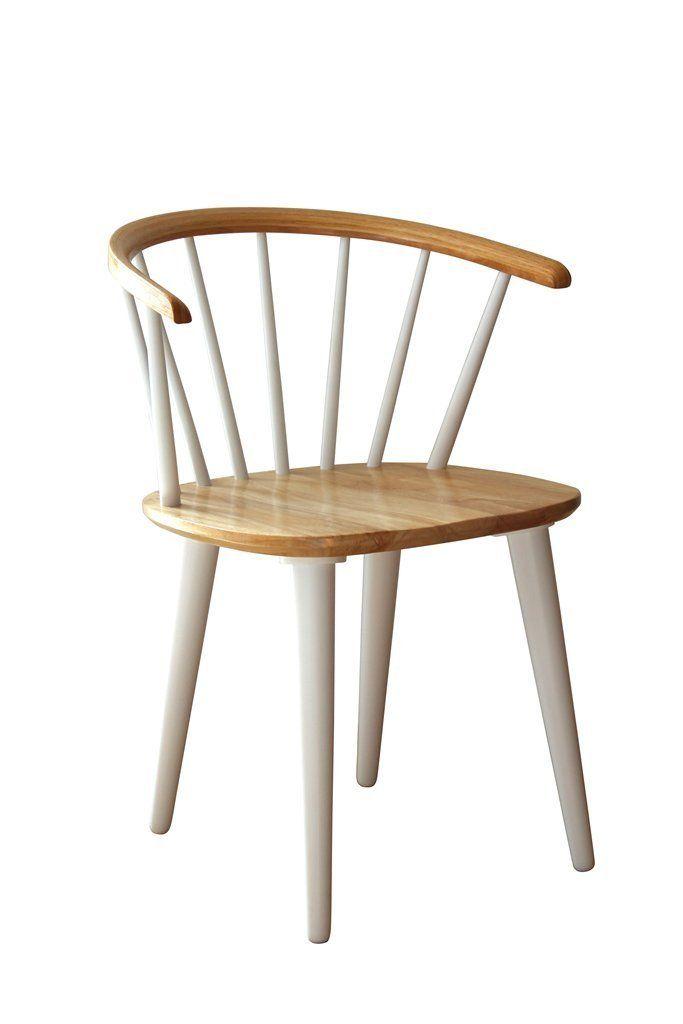 designbotschaft: Zermatt Stuhl Weiß - Esszimmerstühle 1 Stck: Amazon ...