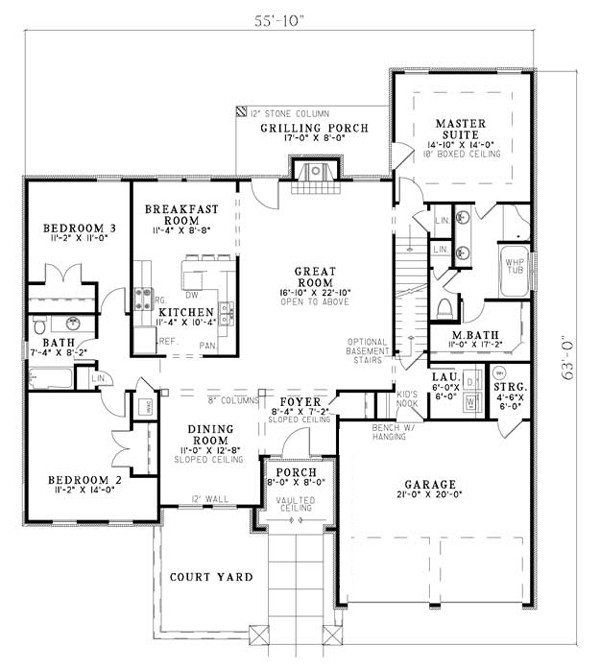 House Plan At Familyhomeplans House Plans New House Plans Mediterranean Homes