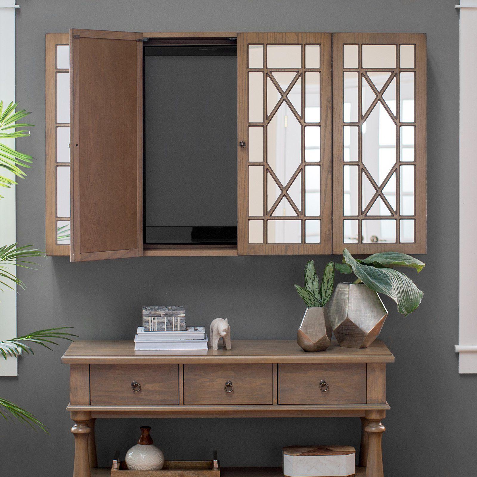 belham living florence tv wall cabinet cs91223d
