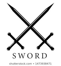 Vector Sword Logo Template Design Sword Logo Stock Images Free Modern Logo