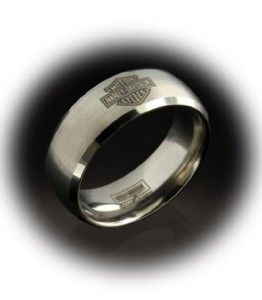 His And Hers Harley Davidson Wedding Rings Badass Biker Rings