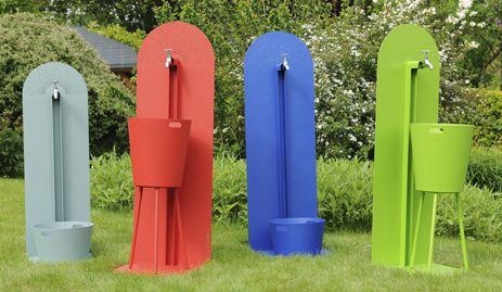 Laorus - Garden furniture - garden #fountain coated steel | Interior ...
