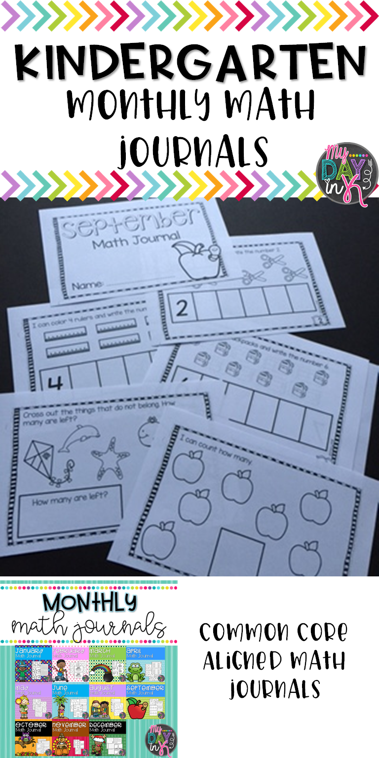 Math Journals for the Year Bundle | Pinterest | Math journals ...