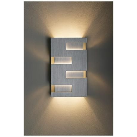 Possini Euro Design 10  High Cutout Wall Sconce - #72660 | L&s Plus  sc 1 st  Pinterest : possini wall sconce - www.canuckmediamonitor.org