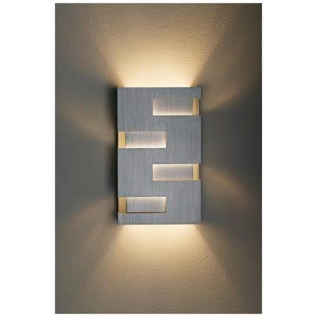 Possini Euro Design 10  High Cutout Wall Sconce - #72660 | L&s Plus  sc 1 st  Pinterest & Possini Euro Design 10