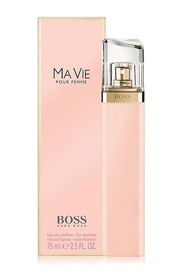 eau de parfum boss ma vie pour femme de 75 ml. Black Bedroom Furniture Sets. Home Design Ideas