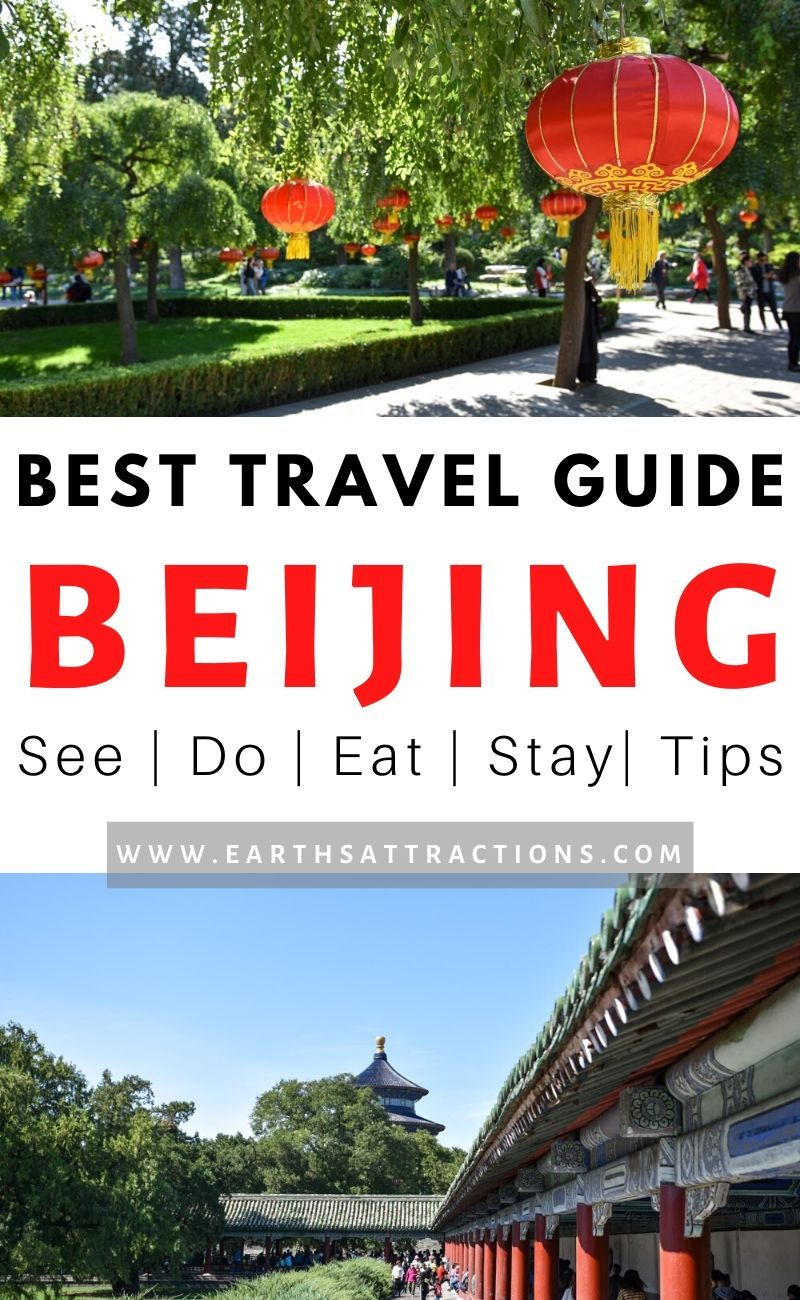 Read now this comprehensive insider's travel guide to Beijing. You'll discover the best things to do in Beijing, including off the beaten path places to visit in Beijing, where to stay in Beijing, great restaurants in Beijing, and useful Beijing travel tips. #beijing #china #asia #beijingthingstodo #earthsattractions #traveldestinations #traveltips