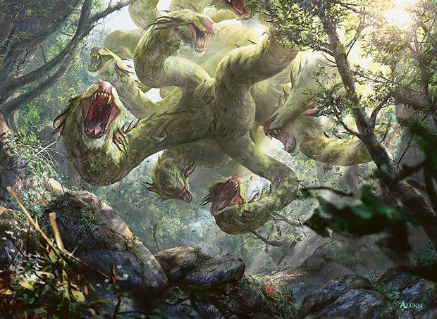 Primordial Hydra - Aleksi Bricolt   M12 Art   Magic art ...