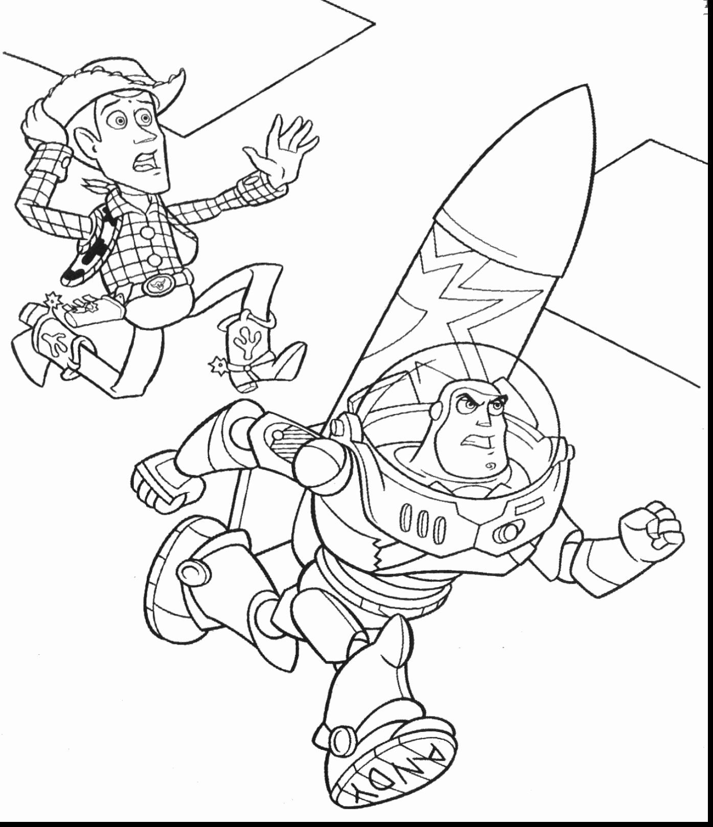 Toy Story Coloring Page Elegant Buzz Lightyear Coloring ...