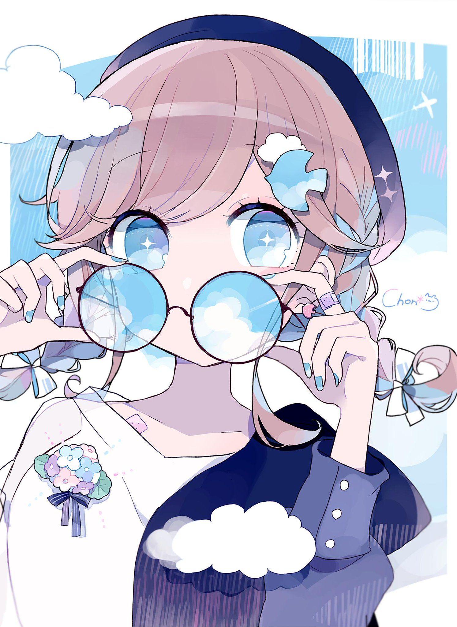 ちょん*🕊コミティア/こ06a on Anime, Anime characters, Kawaii anime