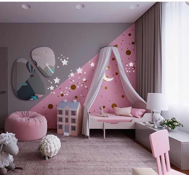Cuartos De Ninas 2018 Baby Room Decor Modern Childrens Room