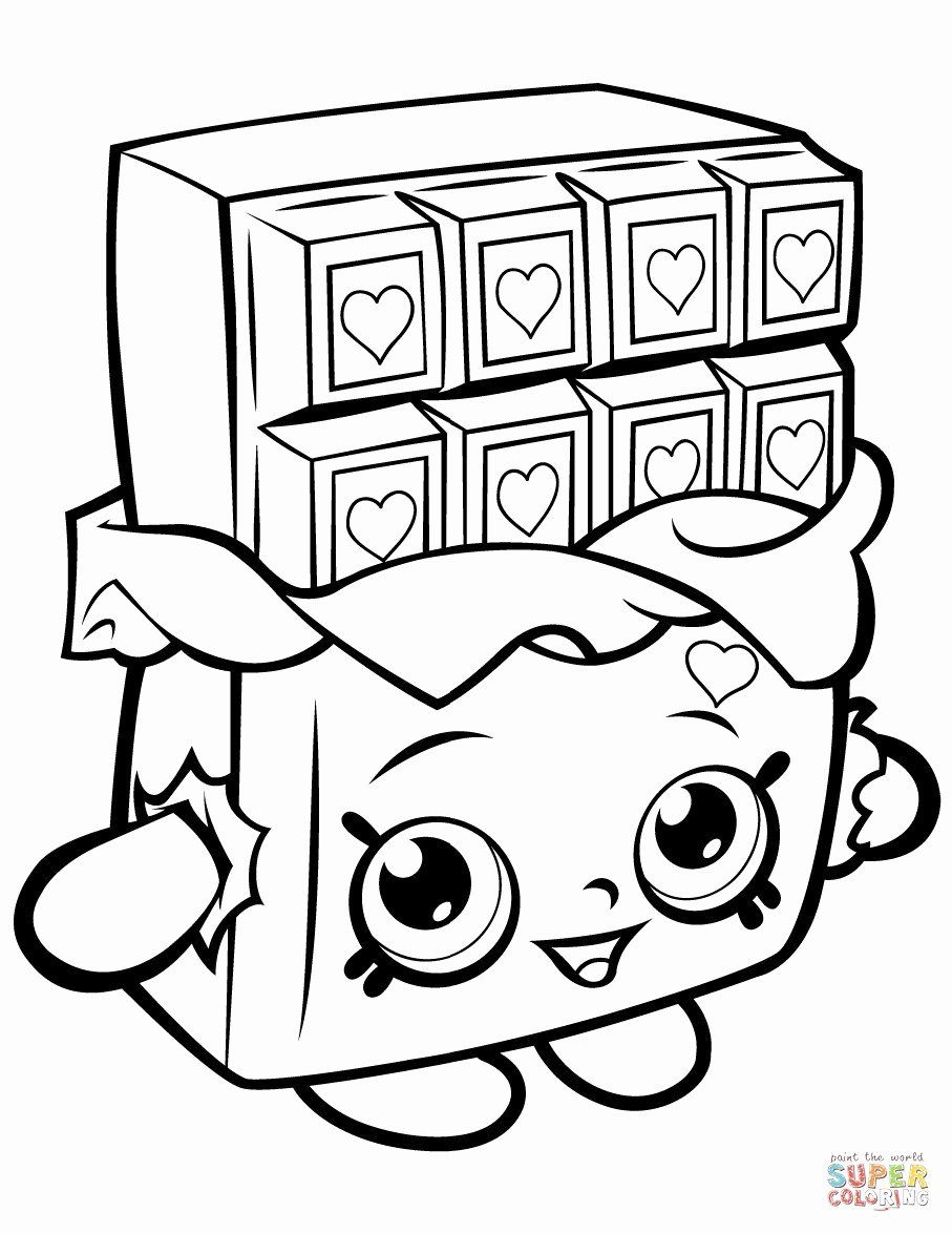 Shopkins Rainbow Coloring Pages Trend