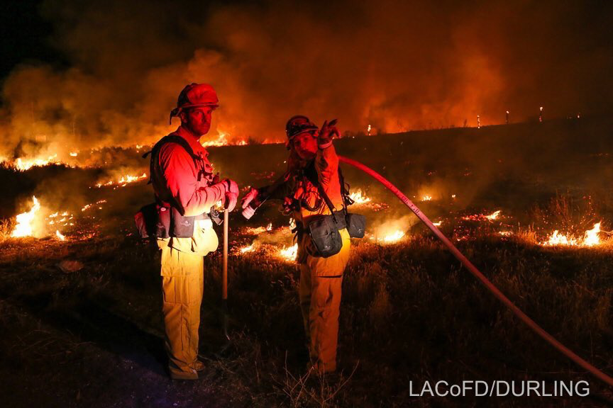Fire los angeles image by Jill Hilts on Sand Fire Los
