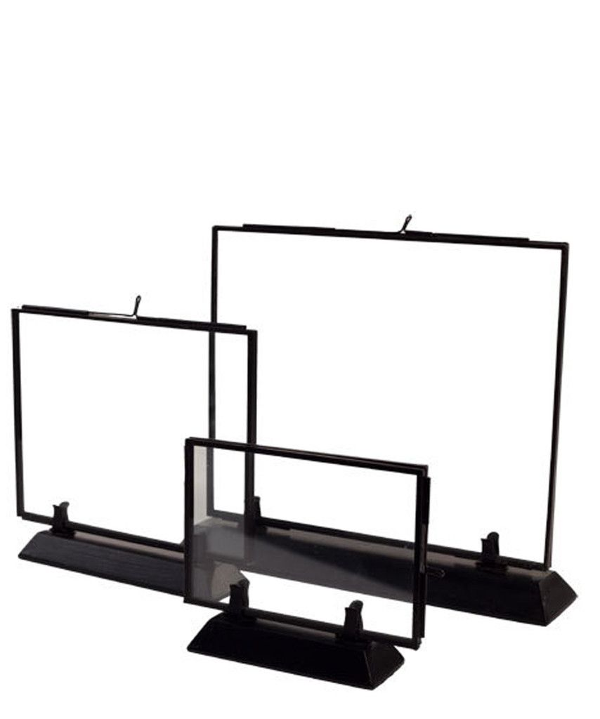 Double Sided Glass Picture Frames | Design Accessories | Pinterest ...