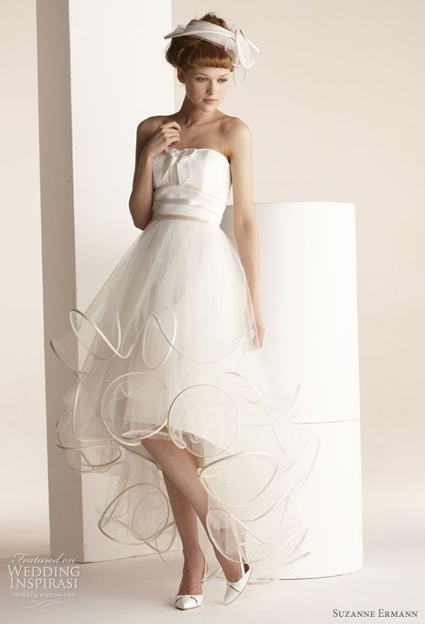 Suzanne Ermann Wedding Dresses 2011 | Bridal collection, Wedding ...