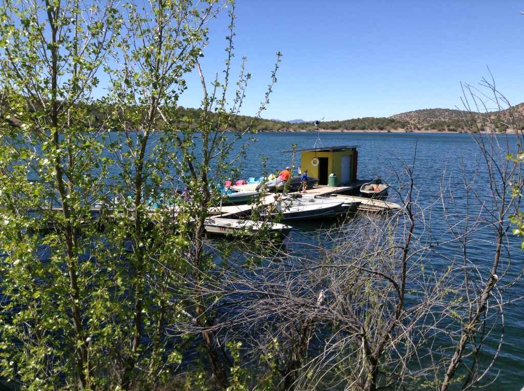 Kayak and paddle boat rentals on the weekends canyon