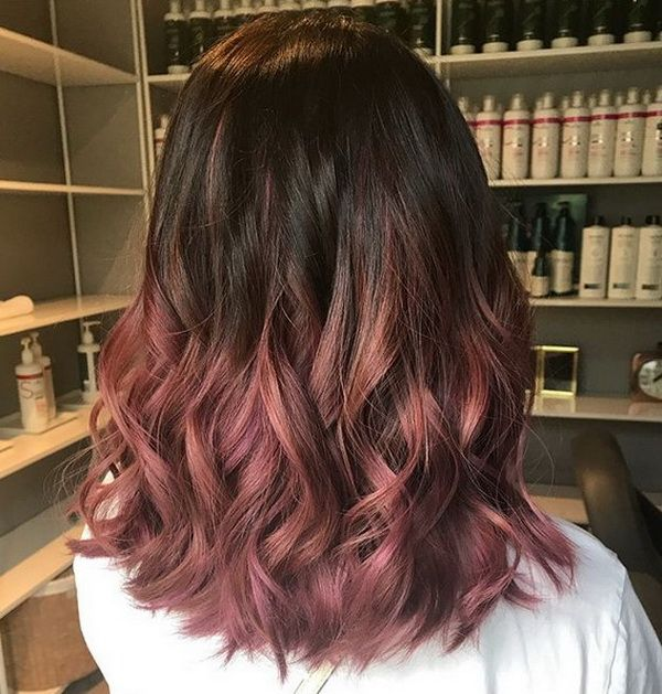 Balayage Hair Color 20182019 Dark Brown with Reddish Hue  Hairstyles Ideas  Hair, Balayage