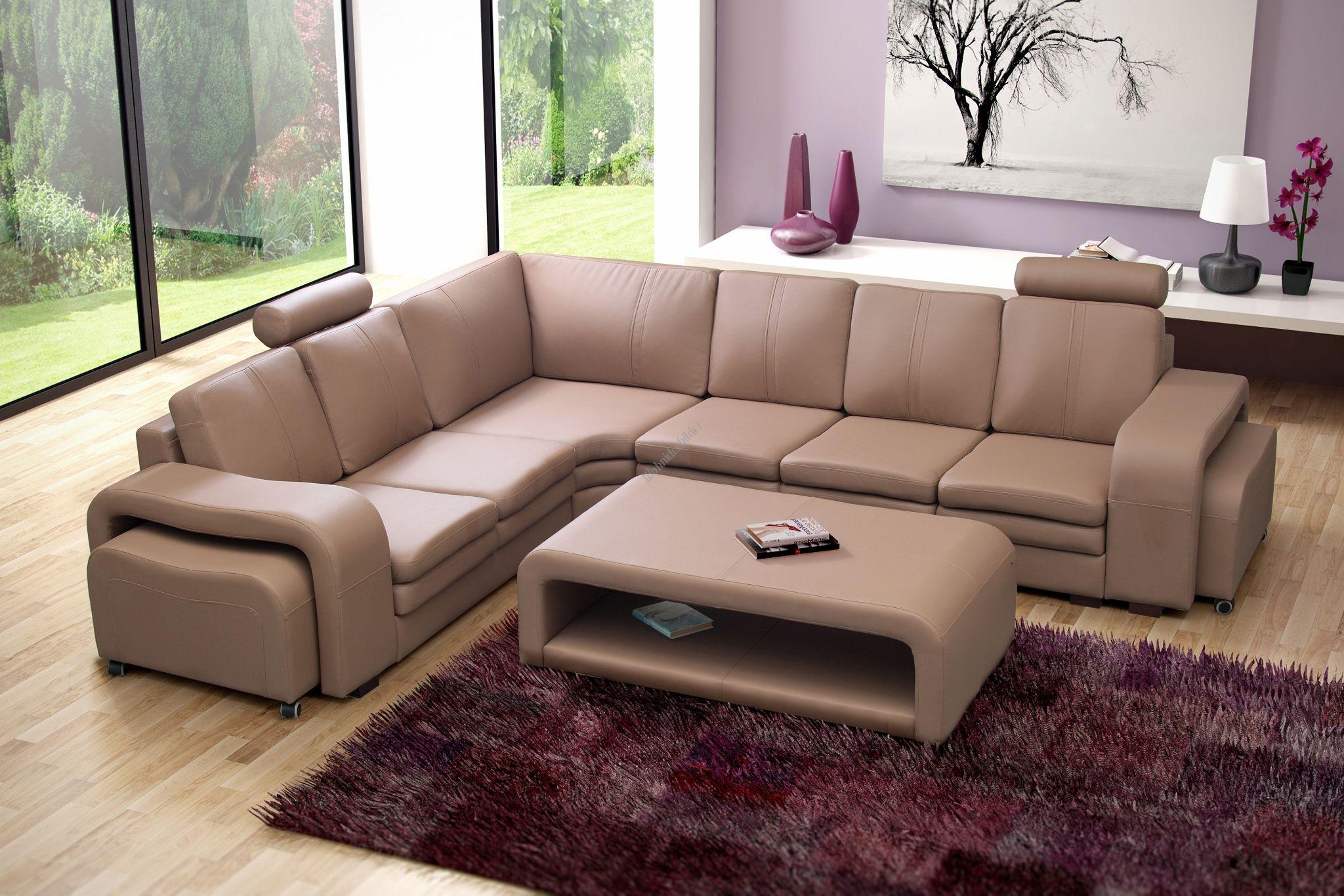 Exquisit Ecksofa Wohnlandschaft Sammlung Von Couchgarnitur Sofa Polsterecke Couch Soft Mit Tisch