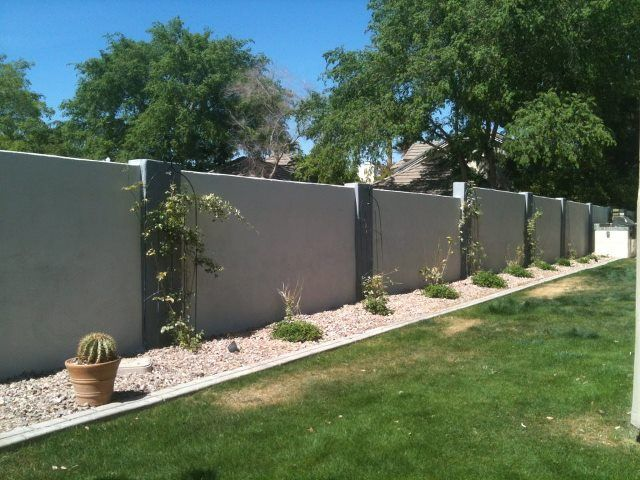 Yes We Paint Block Walls Too Cinder Block Garden Wall Cinder