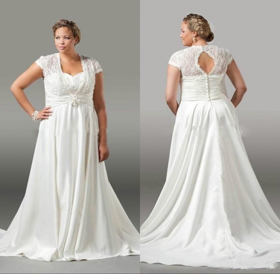 2 Piece Wedding Dresses Plus Size - Best Wedding Dress for Pear ...