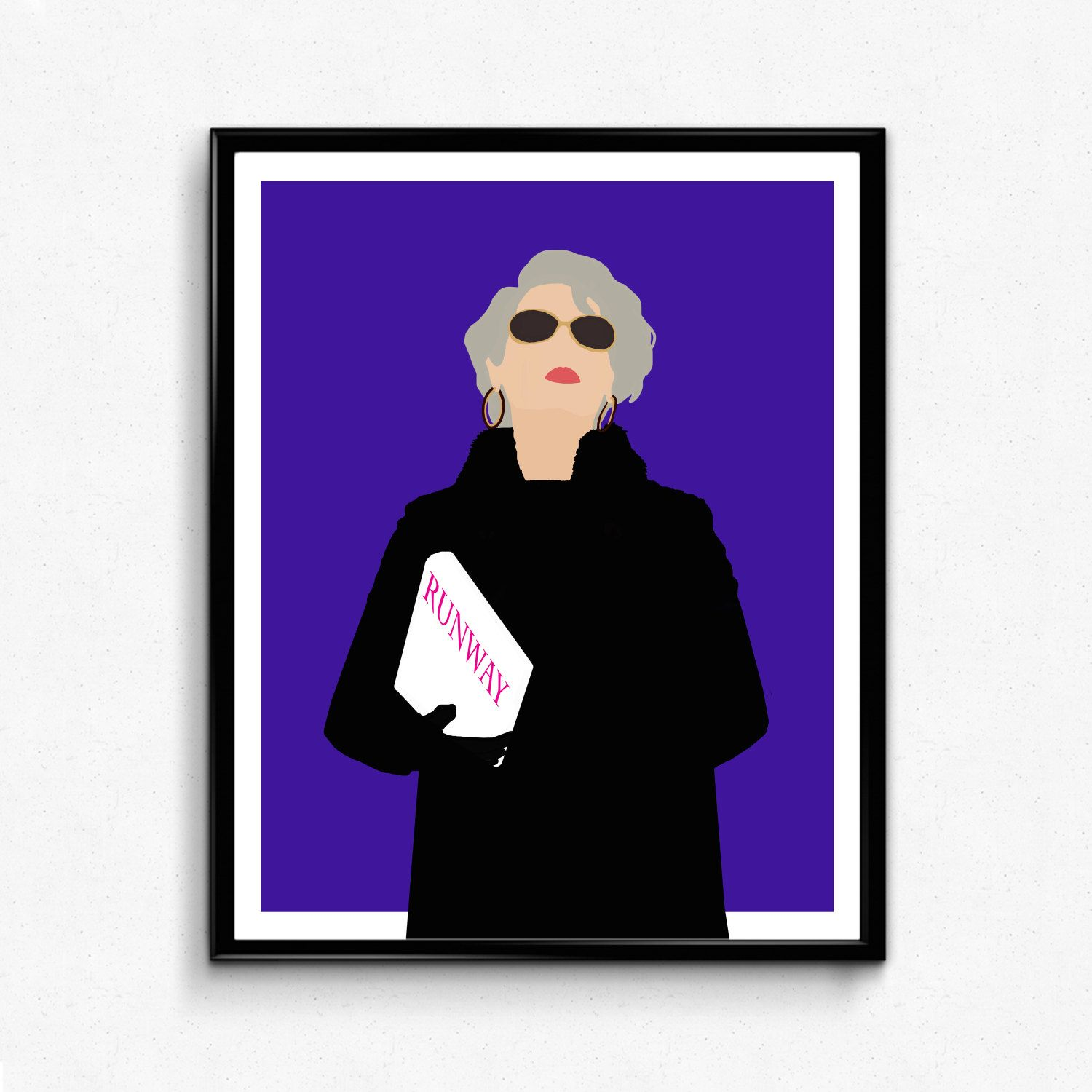 f9bd3be230259 Devil Wears Prada Poster-Miranda Priestly Poster by TheFilmArtist ...