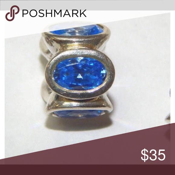 Ale Oval Blue Charm Pandora Charm Jewelry Bracelets