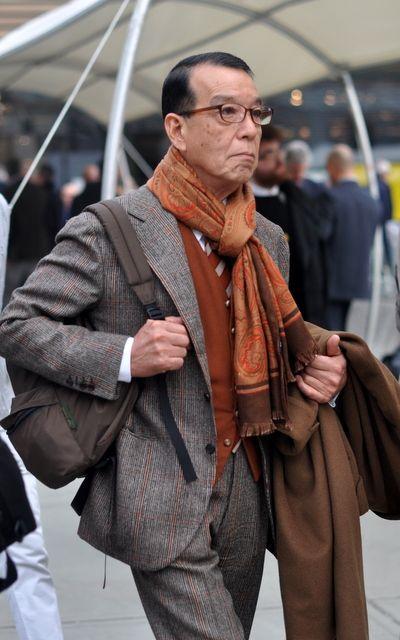 Parisian Gentleman: sartorialeblog:   Style Inspiration: Yukio Akamine