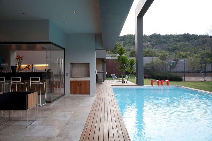 casas modernas quincho