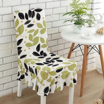 KCASA WX PP5 Elegant Flower Elastic Stretch Chair Seat Cover With