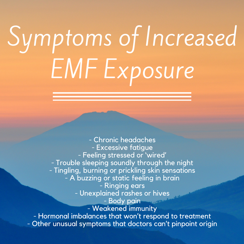 Are you being over exposed to #EMF / #RF #radiation? Test yourself ...
