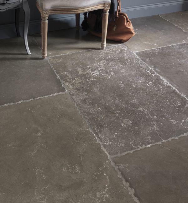 Marble Flooring Essex: Tumbled Pietra Limestone - Limestone