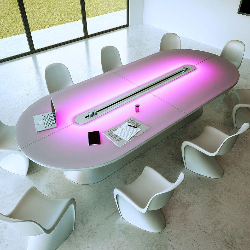 Really Cool Desks conference tablethink future design | design design, resin